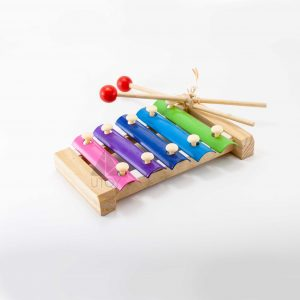 ksilofon toy with colors